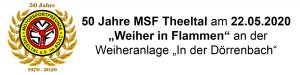 Banner 50 Jahre MSF